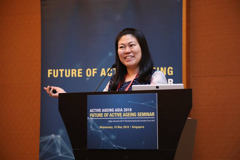 Future of ageing seminar Emily Ho